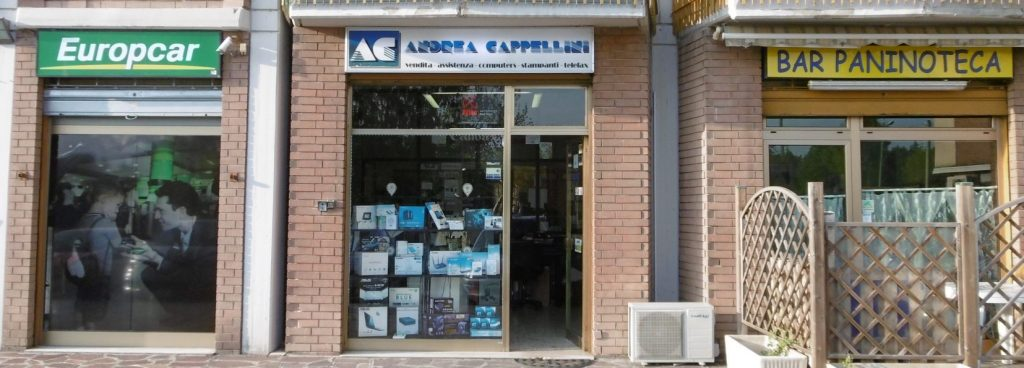 Sede Andrea Cappellini assistenza computer